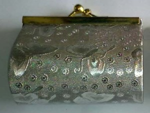 Dompet holo silver